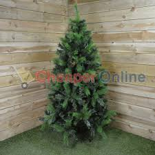 6ft Slim Christmas Tree by 4ft Artificial Christmas Tree Vickerman Green Plastic Foot River