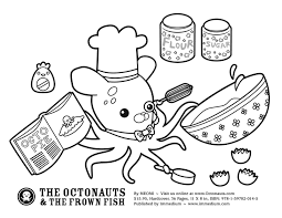 Disney Jr Halloween Coloring Pages octonauts coloring pages 7505