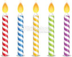 Birthday Candles Vector Art