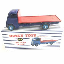 ATLAS 1/43 DINKY TOYS 512 TRADE MARK REGISTERED GUY FLAT TRUCK NEW ...