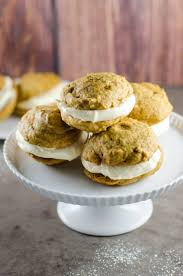 Pumpkin Whoopie Pies Gluten Free by Pumpkin Whoopie Pies With Cream Cheese Filling Umami