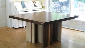 table carr cuisine gracieux table de cuisine carr e carree carrac en bois composac