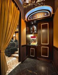 Home Theater Ideas A Little Closet That Could Be Mini Concession Stand