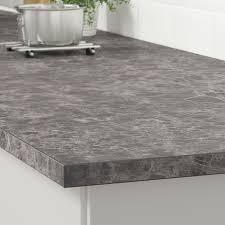 ekbacken arbeitsplatte dunkelgrau marmoriert laminat 186x2 8 cm
