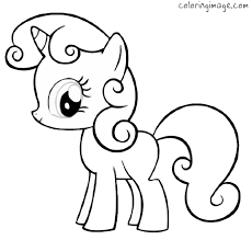 My Little Pony Coloring Pages BABY PONY