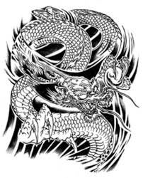 Dragon Tattoos In Paper Tatuointeja