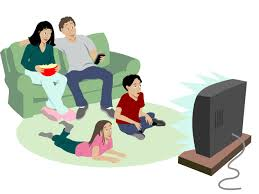 Kids Watch Tv As Parents Do Not They Say Ncpr News Rh Northcountrypublicradio Org Mustache Clip Art Spring