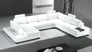 canapé gris design canape d angle cuir blanc 5 6 places occasion canape angle cuir