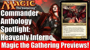 mtg commander anthology heavenly inferno youtube