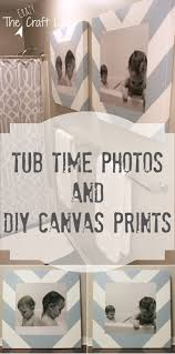 Chevron Print Bathroom Decor by Bath Time Photos And Diy Canvas Prints The Crazy Craft Lady