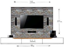 vorbauwand für tv center frontspeaker material tipps