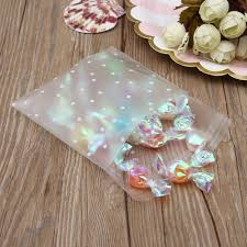 Transparent Frosted OPP Birthday Party Wedding Cookie Candy