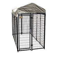100 Truck Dog Kennels KennelMaster 4 Ft X 8 Ft X 6 Ft Welded Wire Fence Kennel Kit