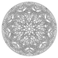 Multiple Swirl Print Coloring Pages