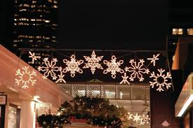 Colorful and Fun Snowflake Outdoor Lights — All About Home Design
