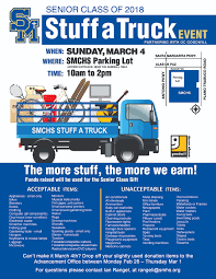 STUFF A TRUCK - Santa Margarita Catholic High School Leevers Stuff A Truck Event Begins The Cavalier County Extra 17547 Cliparts Stock Vector And Royalty Free Illustrations Good Pet Tour Robinson Auto Group Car Dealership Asks Patrons To The 5th Annual Blaze Stuffatruck Weekend 1051 The Blaze Rhinelander Area Food Pantry Assistance Feeding Hungry Gallery Ffd Ontario Police Dept On Twitter We Had Great Day At Abc 7 Sunday Supports Food Shelf Ipdent Review Old Truck Display Loaded With Christmas Stuff Lake City Florida Bowie Green Expo 126 121617 Lions Club School Bus Leads Dations Drive Cortez Market