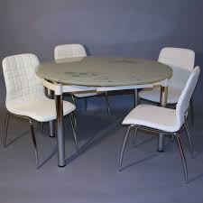 table de cuisine ronde en verre table de cuisine ronde en verre table en verre ronde nubes le