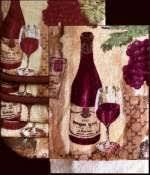 Wine Themed Kitchen Set by Grape Kitchen Decor Theme Ceramics Wine Grape Tuscan