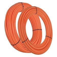 Pex Radiant Floor Heating by Sharkbite U860o100 1 2 Inch Pex Tubing 100 Feet Orange For