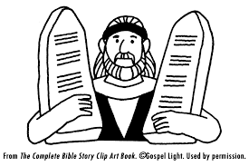 Ten Commandments Teaching Resources Coloring Pages To Print
