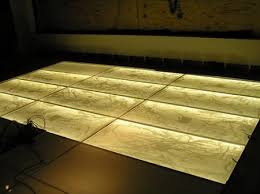 from the field headlines with backlit glass floor gpi design
