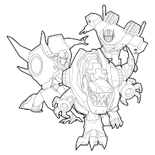 Robots In Disguise Coloring Pages At GetDrawingscom Free For