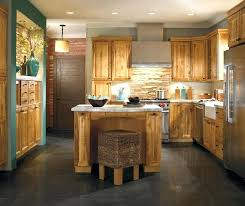 Rustic Kitchen Cabinets Brilliant With Tin