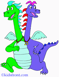Animated Dragon Tales Coloring Pages