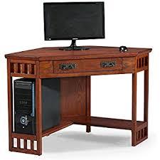 Easy2go Corner Computer Desk Assembly by Amazon Com Corner Computer Desk Workstation Antiqued Finish