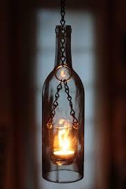 View In Gallery Lantern Styled Wine Bottle Pendant Light