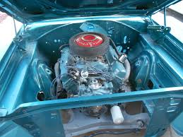 1968 Plymouth Roadrunner Dark Turquoise 383 Auto Engine And Bay