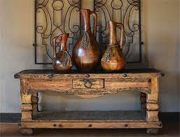 Artesia One Of Kind Console Tables RUSTIC STYLE LIVING ROOM FURNITURE