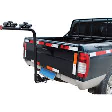 Steel Hitch-Mounted 4-Bike Rack — Fits 2in. Hitch Receiver | Www ...