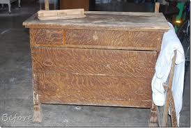 Tiger Oak Dresser Chest by Vintage Restyled Amazing Tiger Dresser Redo