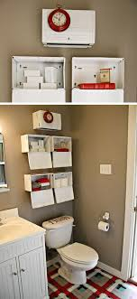 These Metal Boxes Are Hung Upside Down Over The Toilet To Be Used As Decorative Shelves