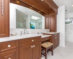 Double Bathroom Vanities With Dressing Table by Custom Vanity Bathroom Cabinetry Design Line Kitchens In Sea