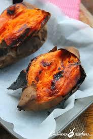 comment cuisiner des patates douces patates douces rôties au four cuisinons en couleurs