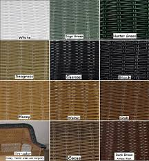 Click Here To See Full Wicker Resin Color Chart