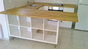 ikea tables de cuisine s paration de cuisine avec kallax bidouilles ikea plan travail