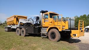 100 Side Dump Truck Western Star XDs Can Really Haul Construction Equipment