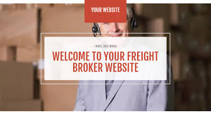 100 Trucking Broker License Freight Website Templates GoDaddy