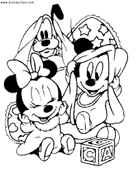 Coloring Sheets Web Art Gallery Disney Babies Pages Disneybabiescoloring