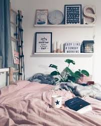 This Cosy Bedroom Set Up Looks So Inviting Love The Combo Of Blush Pink And Grey Bedding Those Black White Prints Are Lovely