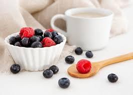 waldfrucht für kuchen und kaffee kostenlose foto