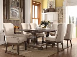 Leonel Rustic 5 Pc 72 Trestle Dining Table Set In Distressed Wood Finish