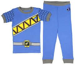 Intimo Toddler Mighty Morphin Power Rangers Costume Pajama Set Dino ...