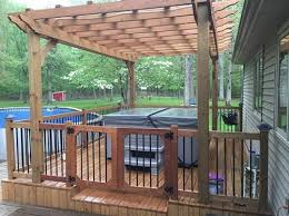 Deck Designing by The Dos And Dont U0027s Of Designing Decks For Tubs Caldera Spas