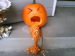 Cute Carved Pumpkins Faces by The 25 Best Pumpkin Throwing Up Ideas On Pinterest Puking