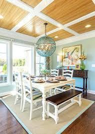 Beach House Dining Room Coastal Cozy Style Chairs