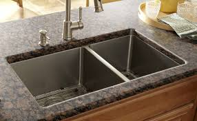 trough sink with 2 faucets blue spruce landscaping front door
